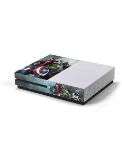 Avengers Assemble Xbox One S Console Skin