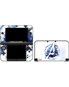 Avengers Blue Logo 3DS XL 2015 Skin