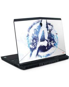 Avengers Blue Logo Dell Alienware Skin