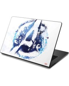 Avengers Blue Logo Dell Chromebook Skin