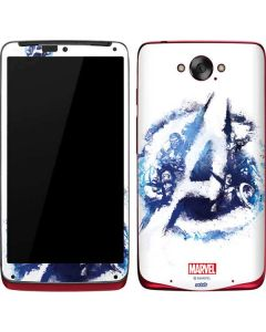 Avengers Blue Logo Motorola Droid Skin