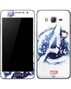 Avengers Blue Logo Galaxy Grand Prime Skin