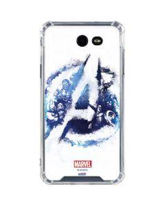 Avengers Blue Logo Galaxy J7 (2017) Clear Case