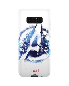 Avengers Blue Logo Galaxy Note 8 Lite Case