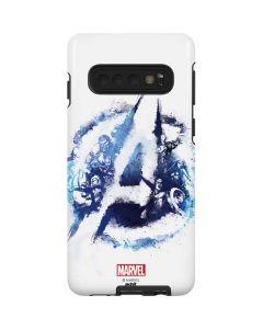 Avengers Blue Logo Galaxy S10 Pro Case