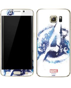 Avengers Blue Logo Galaxy S6 edge+ Skin