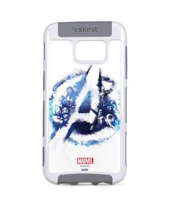 Avengers Blue Logo Galaxy S7 Edge Cargo Case