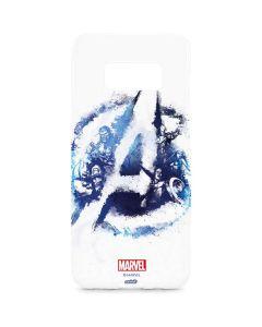 Avengers Blue Logo Galaxy S8 Plus Lite Case