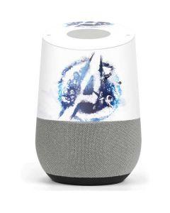 Avengers Blue Logo Google Home Skin