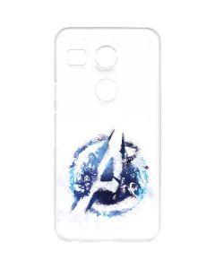 Avengers Blue Logo Google Nexus 5X Clear Case