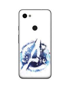 Avengers Blue Logo Google Pixel 3a XL Skin