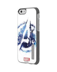 Avengers Blue Logo Incipio DualPro Shine iPhone 6 Skin