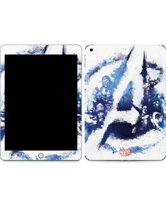 Avengers Blue Logo Apple iPad Skin