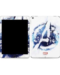 Avengers Blue Logo Apple iPad Air Skin