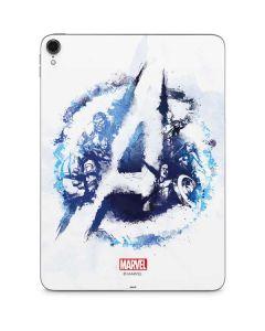 Avengers Blue Logo Apple iPad Pro Skin