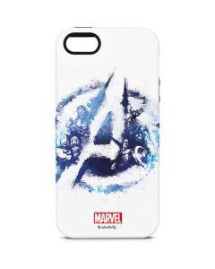 Avengers Blue Logo iPhone 5/5s/SE Pro Case