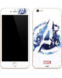 Avengers Blue Logo iPhone 6/6s Plus Skin