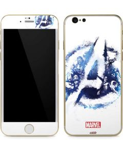 Avengers Blue Logo iPhone 6/6s Skin