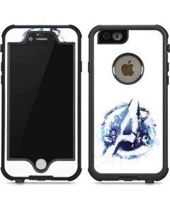 Avengers Blue Logo iPhone 6/6s Waterproof Case
