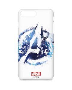 Avengers Blue Logo iPhone 8 Plus Lite Case