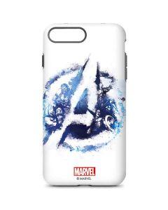 Avengers Blue Logo iPhone 8 Plus Pro Case