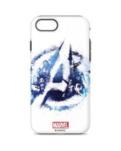 Avengers Blue Logo iPhone 8 Pro Case