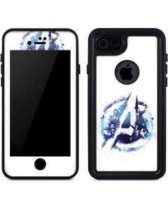 Avengers Blue Logo iPhone 8 Waterproof Case