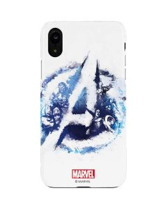 Avengers Blue Logo iPhone XR Lite Case