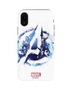 Avengers Blue Logo iPhone XR Pro Case