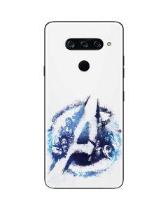 Avengers Blue Logo LG V40 ThinQ Skin