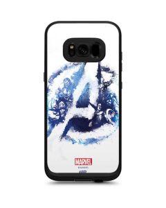 Avengers Blue Logo LifeProof Fre Galaxy Skin