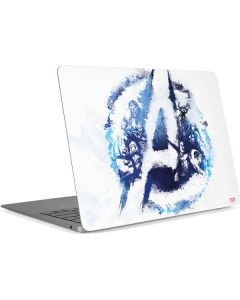 Avengers Blue Logo Apple MacBook Air Skin