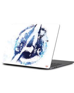 Avengers Blue Logo Apple MacBook Pro 13-inch Skin
