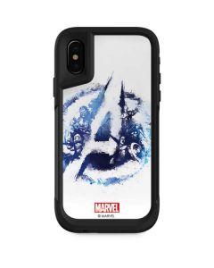Avengers Blue Logo Otterbox Pursuit iPhone Skin