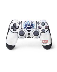 Avengers Blue Logo PS4 Controller Skin