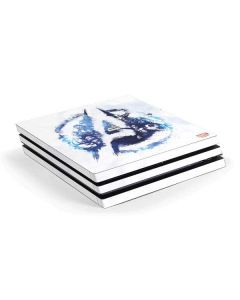 Avengers Blue Logo PS4 Pro Console Skin
