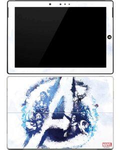 Avengers Blue Logo Surface 3 Skin