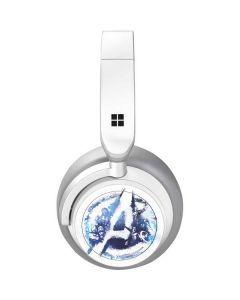 Avengers Blue Logo Surface Headphones Skin