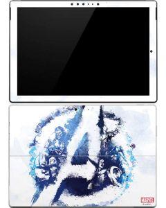 Avengers Blue Logo Surface Pro 4 Skin