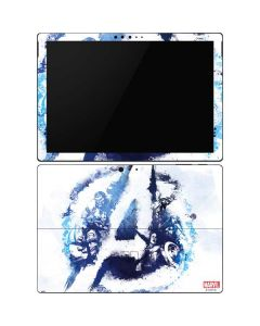 Avengers Blue Logo Surface Pro 6 Skin