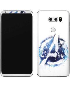 Avengers Blue Logo V30 Skin