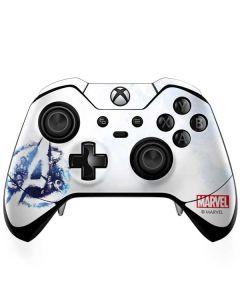 Avengers Blue Logo Xbox One Elite Controller Skin