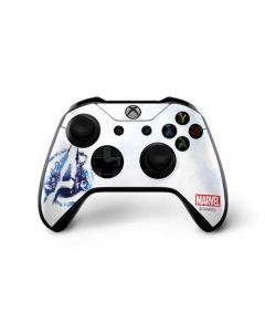 Avengers Blue Logo Xbox One X Controller Skin