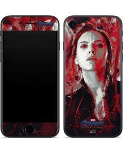 Avengers Endgame Black Widow iPhone 8 Skin