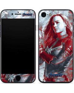 Avengers Endgame Captain Marvel iPhone 8 Skin