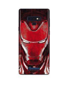 Avengers Endgame Ironman Galaxy Note 9 Skin