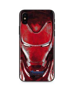 Avengers Endgame Ironman iPhone XS Max Skin