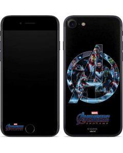 Avengers Endgame Logo iPhone 8 Skin