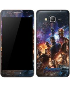 Avengers Endgame Ready for Action Galaxy Grand Prime Skin