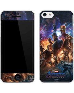Avengers Endgame Ready for Action iPhone 5c Skin